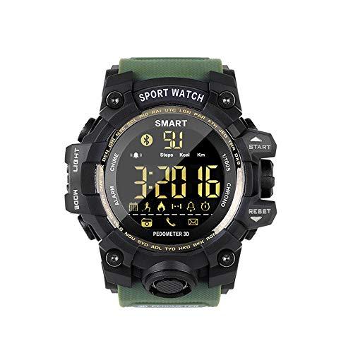 Deportes De Profundidad Resistente Al Agua Bluetooth Reloj De Espera Larga