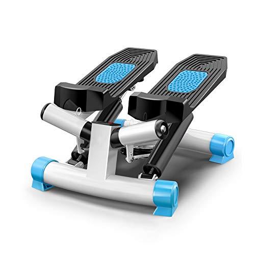 Qilo Paso Multifuncional Aptitud Paso a Paso silencioso con Pantalla LED de Fitness Paso a Paso Inicio Pedal ejercitador (Color : Blue)
