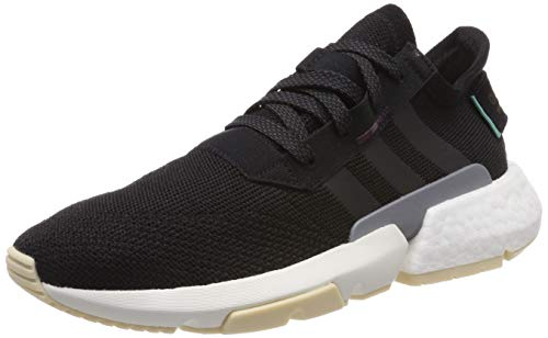 adidas Pod-S3.1 W, Zapatillas de Gimnasia para Mujer, Negro (Core Black/Core Black/Maroon Core Black/Core Black/Maroon), 38 EU