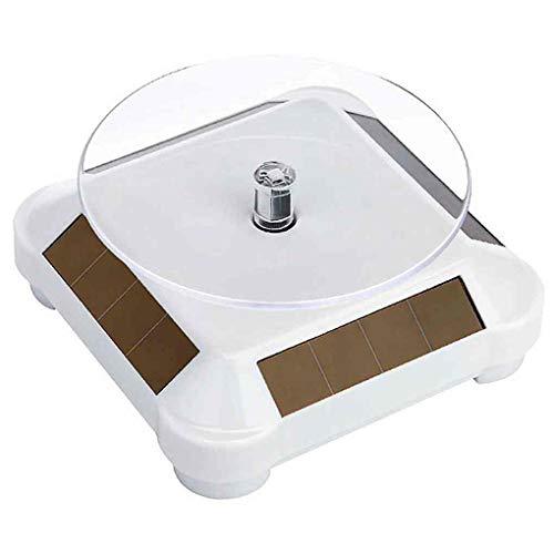 Vokmon Sonnenenergie-Batterie 360 drehende Drehscheibe-Ausstellungsstand Ketten-Armband-Schmucksache-Telefon Turn Table Teller
