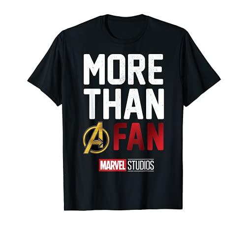 Marvel Studios MORE THAN A FAN 2019 Graphic T-Shirt T-Shirt