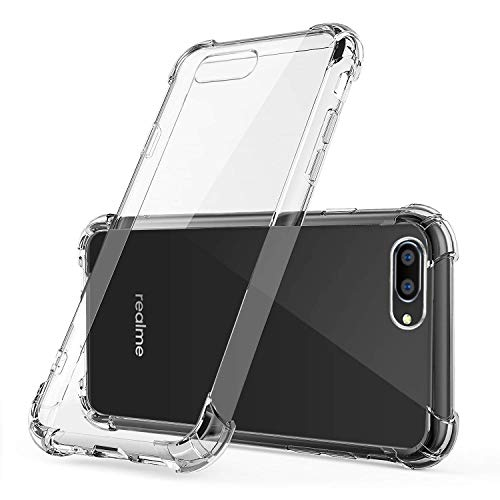 Difal Case Transparent Back Cover for Realme C2