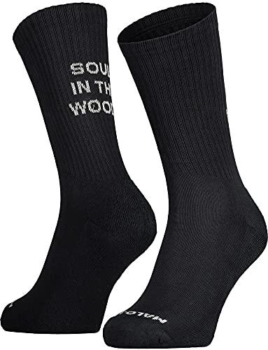 Maloja Bushm. Socken Schwarz, Socken, Größe EU 39-42 - Farbe Moonless