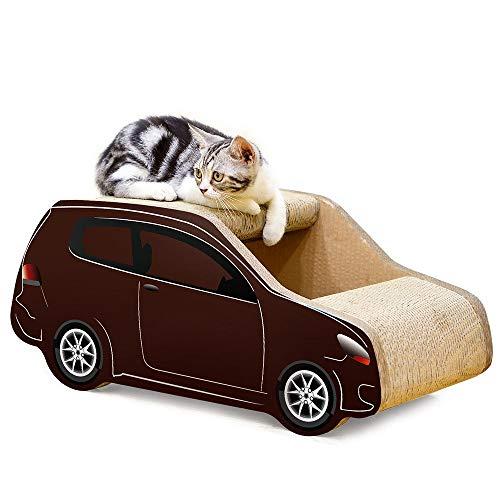 Luyshts SUV Papel Corrugado Gato Tablero De Arañazos Gato Arena Gato Garra De Juguete for Evitar La Deformación De Las Uñas No Atrapa Muebles Gato Mascotas Suministros