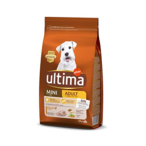 Ultima Cibo per Cani Adulti Mini con Pollo -1,5 kg - 1 Bag