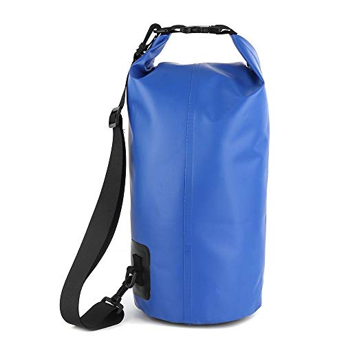 WONYAN Motorfiets Onderdelen Motorcycle Bag Outdoor PVC Dry Sack Bag Waterproof 10L 20L 30L schoudertas Duiken Zwemmen Wandelen Driving Travel Kits (Color Name : Blue 20L)