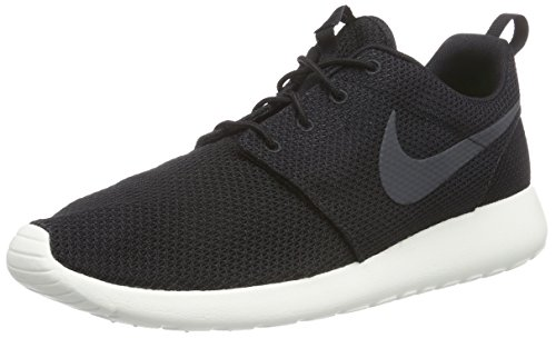 Nike Herren Roshe One Low-Top, Schwarz (010 BLACK/ANTHRACITE-SAIL), 42 EU