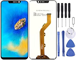 Cellphone Replacement Parts LCD Screen and Digitizer Full Assembly for Tecno Spark 3 Pro KB3 KB8