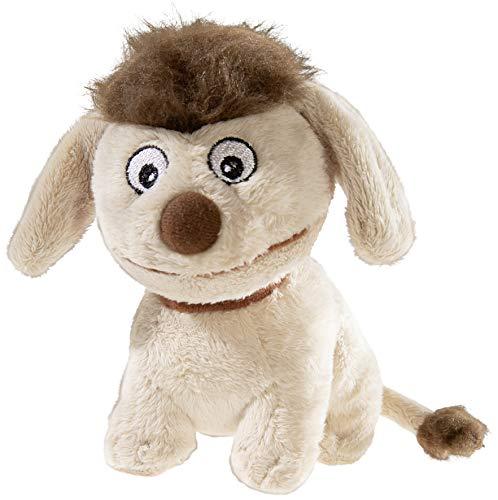 Heunec 2045397 649675 - Sandmann und Freunde, Beanie, Hund Moppi 15cm