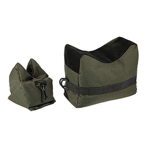 Neborn Vorne + Hinten Tasche Unterstützung Gewehr Sandsack ohne Sand Sniper Ziel Stand Jagd Zubehör 600D Oxford Tuch Sandsack Outdoor Tool