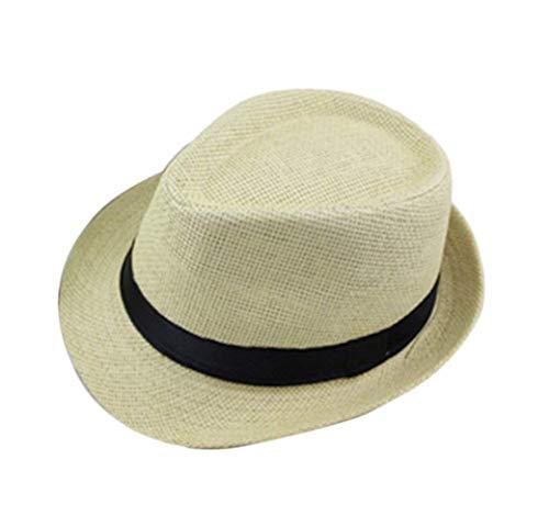 Sombrero De Paja De Panamá Sombrero para El Sol Unisex Fácil Plegable...