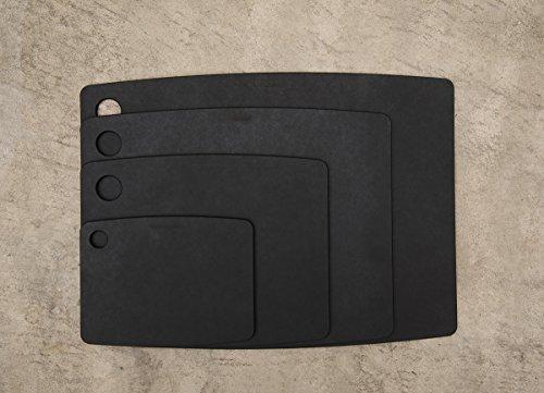 エピキュリアン木製まな板カッティングボードSブラック食洗機対応10806S
