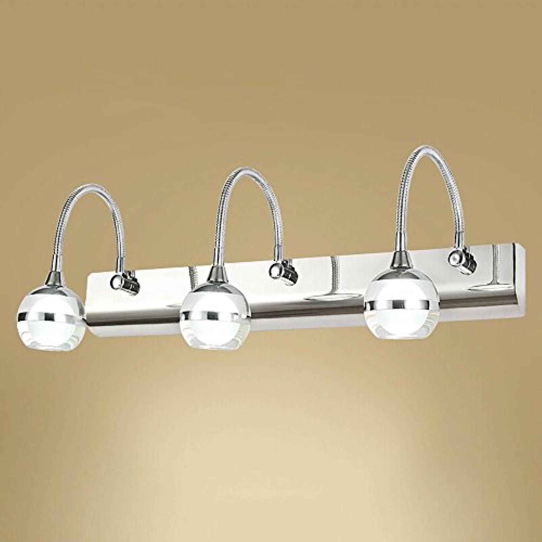 Wasserdichte Badezimmerspiegel Scheinwerfer, Nordic LED Chrom Metall Acryl Beleuchtung Hngelampe WandleuchteN Moderne Minimalistische Wohnzimmer Schlafzimmer Studie Wandlampen