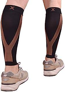 آستین فشرده سازی گوساله Thx4 مس (20-30 میلی متر جیوه) برای مردان و زنان ، Shin Splint پا فشرده سازی ساق پا