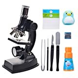 Asffdhley Lab Microscope Educational Insights Talking Microscope - Love Science - For Preschool Children! for Kids Beginners Children Student