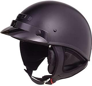 Gmax G1235077; Gm35 Half Helmet - Dressed Fla