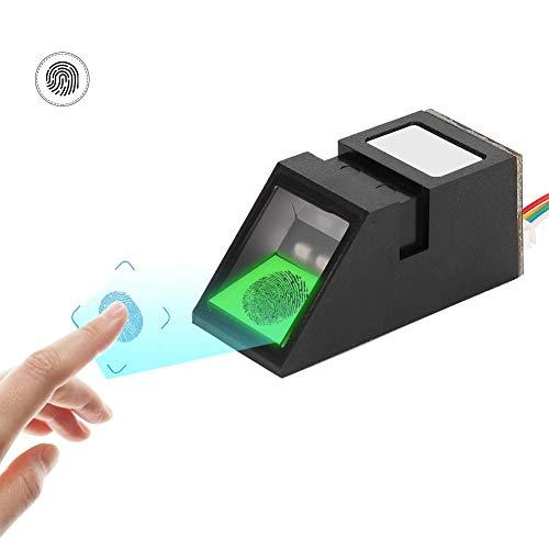Tangxi Módulo de Huella Digital óptico USB, escáner de módulo de Sensor de Lector de Huella Digital óptico de Alta resolución 500DPI de luz Verde para la Serie Android/Windows