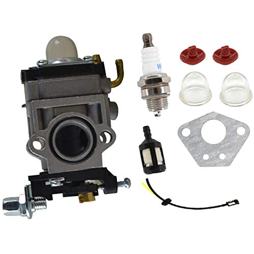 ACAMPTAR Kit de Línea de Combustible de Carburador de 15 Mm para 43Cc 52Cc 40-5 Bc430 Cg430 Cg520 1E40F-5 44F-5 Motor Recortador de Cepillo