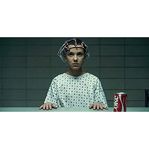 zachking Elf Fremder Dinge Coca Cola Tv-serie Poster Matte Finish Papier Druck 12 X18 Zoll Multicolor. 50x75cm Framed