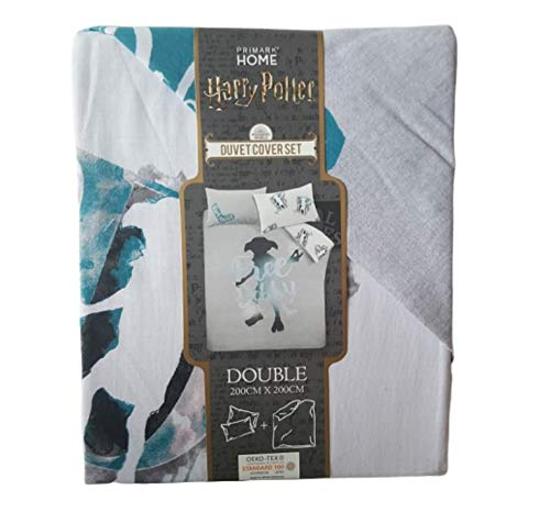 Licensed Harry Potter Free Dobby Double Duvet Cover Set With Two Pillow Cover Gift New