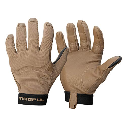 Magpul Patrol Glove 2.0 Lightweight Tactical Leather Gloves, Coyote, Large