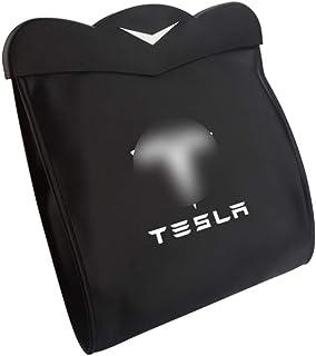 ACEOLT Mülltonnen Tasche Auto Mülleimer Mülleimer Fahrzeug Müllcontainer Rücksitz Hängen Organizer für Tesla Model 3