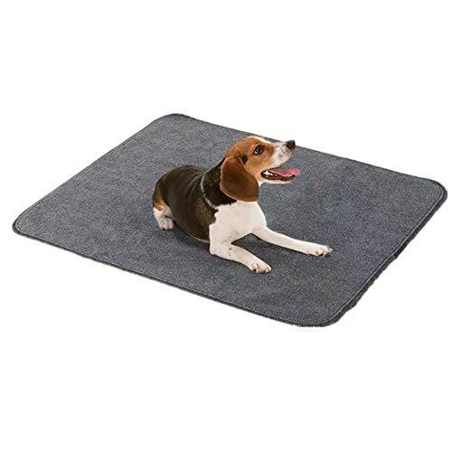 Empapadores Perros Toallitas Perro Impermeable Perro Reutilizables Almohadillas para Cachorros Perro incontinencia Almohadillas 30 * 42inch