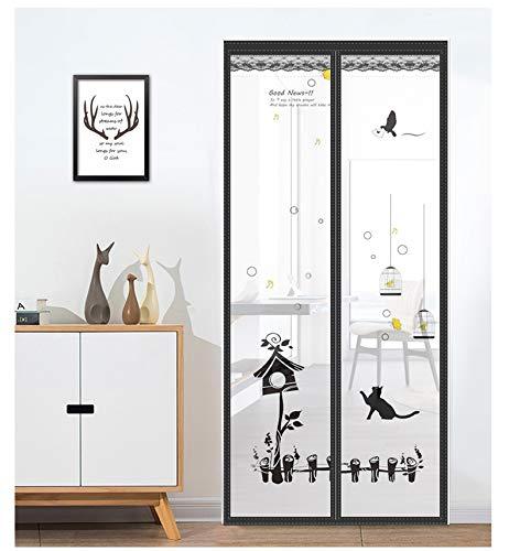 Die Gesundheit und der Komfort des Sommerhauses schließen automatisch das Verschlüsselungsgitter des Magnetgitter-Vorhangvorhangs gegen Mücken A1 W90xH210