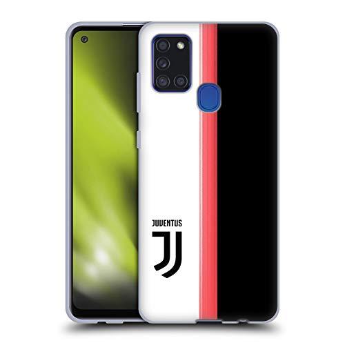 Head Case Designs Licenza Ufficiale Juventus Football Club in Casa 2019/20 Race Kit Cover in Morbido Gel Compatibile con Samsung Galaxy A21s (2020)