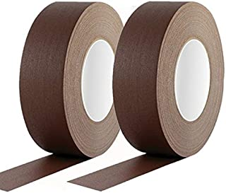 Duct Tape 2 pcs, Brown Color 2' Inch (50mm) x 90 ft, Heavy Duty Strong Adhesion Multipurpose Gaffer Tape, For Packaging, R...