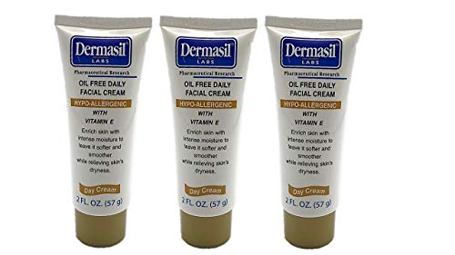Dermasil Oil-Free Daily Face Cream 3-Pack