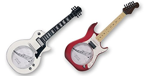 Dakota Marco de Fotos Guitarra Eléctrica. 35cm. Roja o Blan