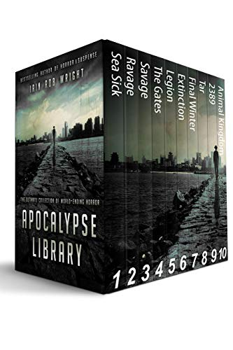 Apocalypse Library (10 end of the world novels): The Ultimate Collection of World-Ending Horror