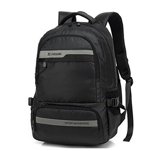 beibao shop Backpack - Grande capacité Ordinateur Sac à Dos Imperméable Résistant à l'usure Étudiant Sac d'école Contient Prise USB, 003