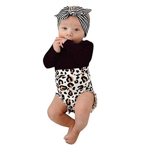 Baby Meisje Kleding Set Kleine Zuster Romper Tops Luipaard Print Broek 3 Stukken Outfits Peuter Kids Pyjama Sets Casual Tracksuit Loung Wear Kleding Topjes Romper Korte Broek Outfit