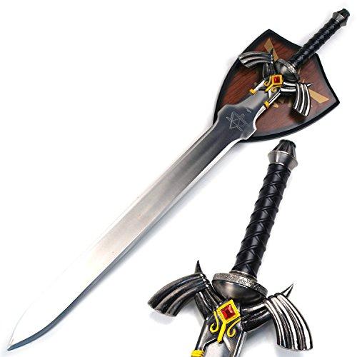 Link Master Sword Zelda Twilight Princess Fantasy Dagger with Plaque