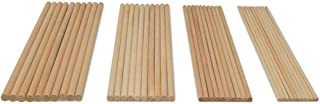 Wooden Dowel Asssortment, 40 Dowel Rods 12 inches Long by Woodpeckers