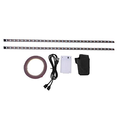 Fafeims Tira de luz LED para Scooter eléctrico, Banda de lámpara LED de chasis para Scooter eléctrico Xiaomi M365(Scooter Floor Lights)