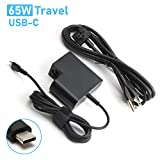 65W Charger Adapter for Thinkpad E485 E580 E585 L480 L580,Lenovo Yoga 370 720 730 910,MacBook/Pro,Surface Go,ASUS,HP Spectre,Acer,and Any Other Laptops or Smart Phones with Type C Laptop Power Supply