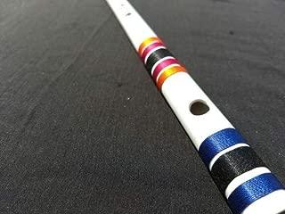 White PVC Flute Bansuri (C scale)