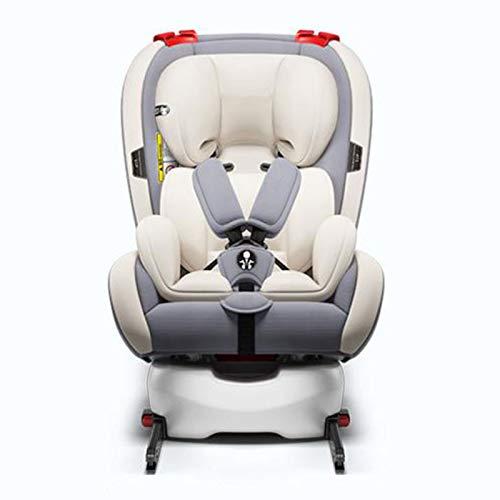 QYT-One Silla de Coche Bebe Desde el Nacimiento hasta los 36 kg giratoria a 360 Grados Isofix Top Tether cinturón de Seguridad de 5-Puntos