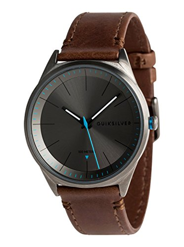 Quiksilver Bienville Leather - Analogue Watch for Men - Analoge Uhr - Männer