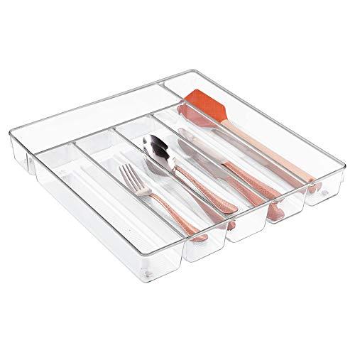 InterDesign Linus Caja para cubiertos, cubertero para
