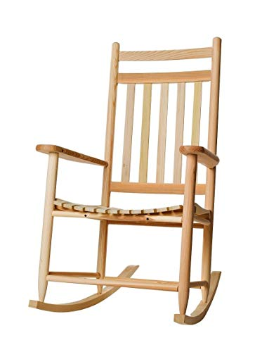 Dixie Seating Penrose Wood Rocking Chair No. 67SRTA Unfinished