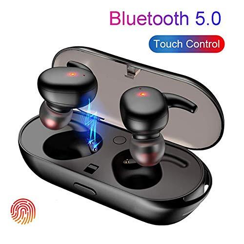 D-SYANA8 Auriculares Inalambricos Bluetooth, Auricular Bluetooth Telefono con Cancelación de Ruido,Control tactil Stereo Sound HD Call Wireless In-Ear Inalámbricos Bluetooth 5.0 Black