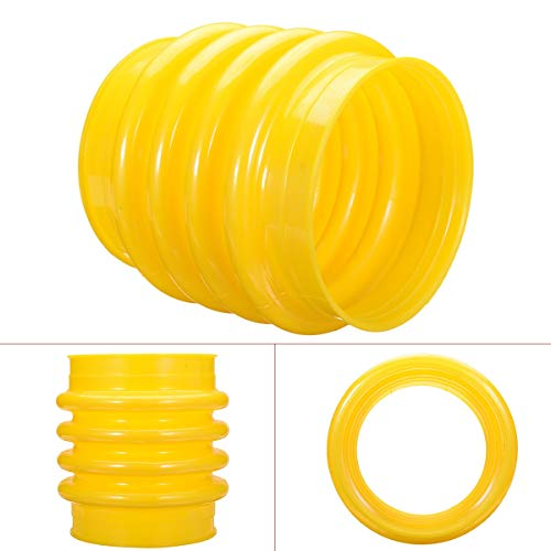 1 Stück Gelb PU Jumping Jack Blasen Starter 17,5 cm für Wacker Rammer Compact Tamper für Elektrowerkzeuge