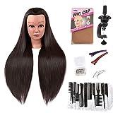 AMYGIRL Mannequin Head Hair Styling Hairdresser...