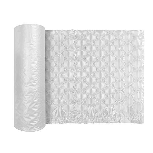 JZBRAIN Air Cushion Film Air Bubble Bags Wrap Packing Roll,1 Roll 400mm X 290mm X 300m X 0.02mm Air Cushion Films ONLY Compatible with JZBRAIN 056C Air Pillow Maker Air Cushion Machine (74005)