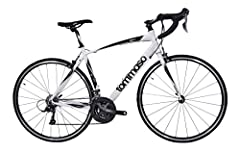 YOU DON'T NEED TO SPEND MORE: Because Tommaso is a direct to the consumer brand you can now get a bike with 100% Shimano gears, super lightweight aluminum frame, and lightweight wheels for an amazing value. Tommaso gives you value like no other brand...