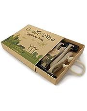 GreenVibe Organic Razors: rasoi usa e getta con manici ecologici biodegradabili